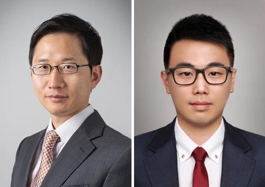 Park Chan-keun (left) and David Park