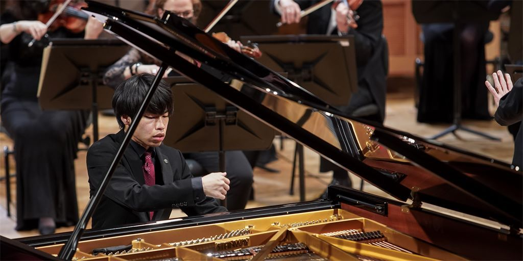 Pianist Keigo Mukawa (Queen Elisabeth Competition's website)