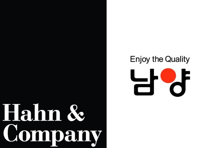 Logos of Hahn & Co and Namyang Dairy Products
