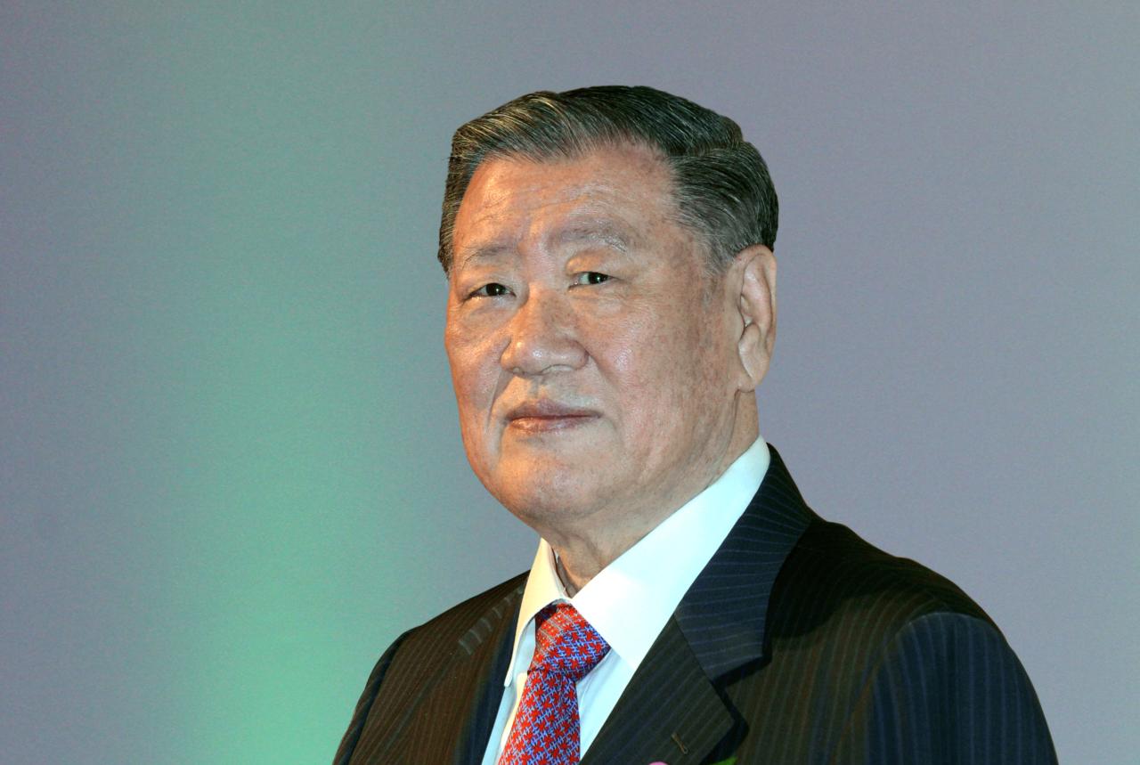 Hyundai Motor Group's honorary chairman, Chung Mong-koo (Hyundai Motor)