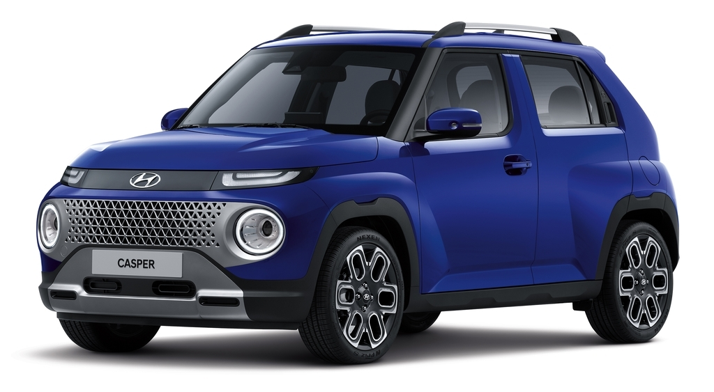 This file photo provided by Hyundai Motor shows the Casper mini SUV. (PHOTO NOT FOR SALE) (Yonhap)