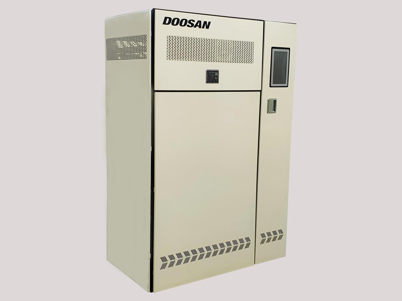 Doosan Corp.'s 10-kilowatt solid oxide fuel cell for homes and buildings (Doosan Corp.)