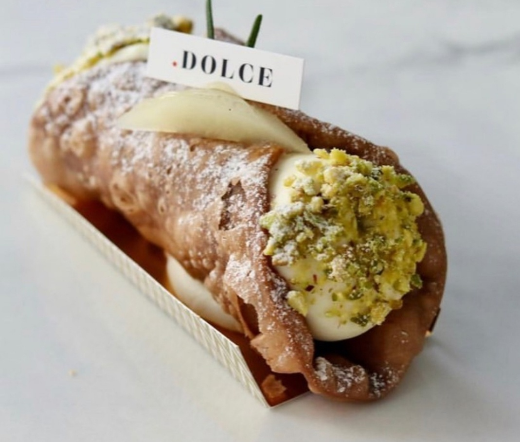 Punto Dolce often offers an additional variation of cannoli, sometimes using pear or green tea to give dessert lovers a slightly different twist to the popular Italian dessert. (Photo credit: Soojoo Kim)