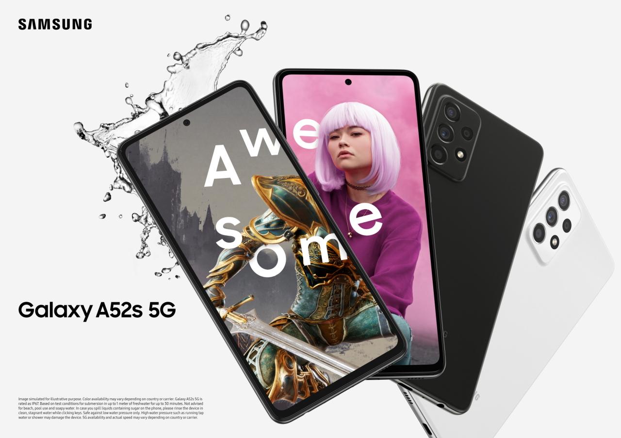Galaxy A52s 5G (Samsung Electronics)
