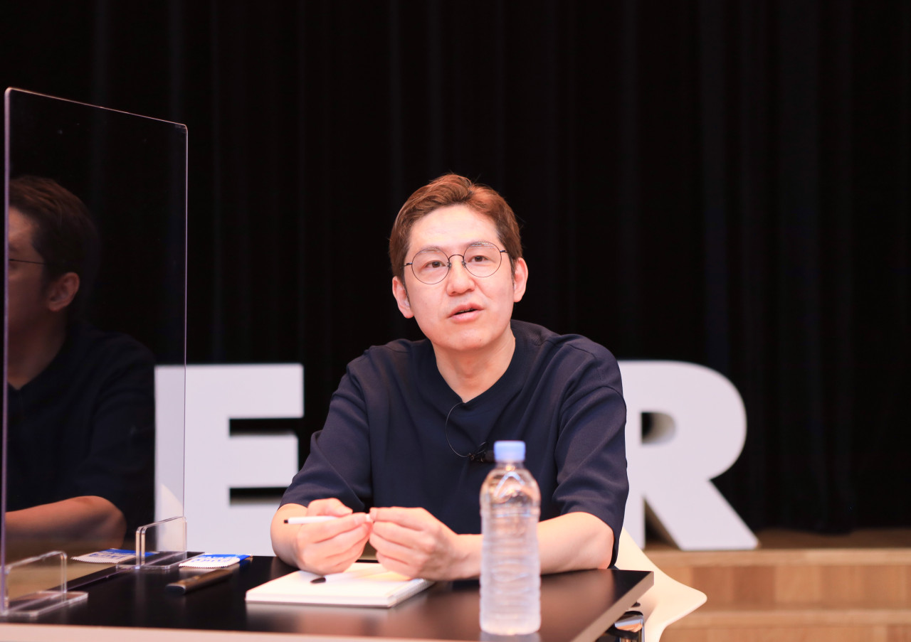 Naver Webtoon CEO Kim Joon-ku (Naver)