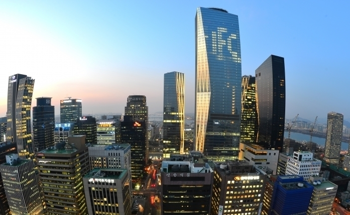 South Korea's financial district of Yeouido, located in western Seoul (Yonhap)