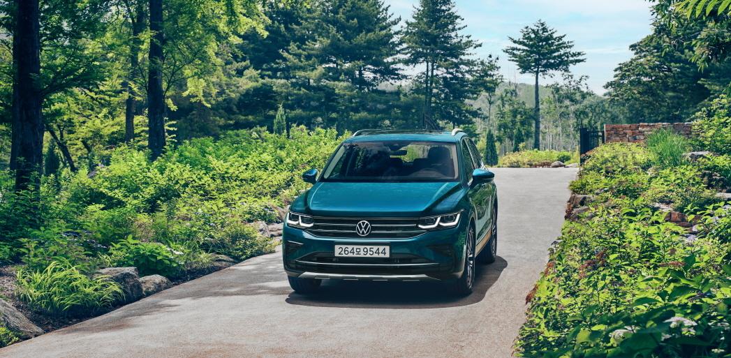 The Volkswagen Tiguan (Volkswagen Korea)
