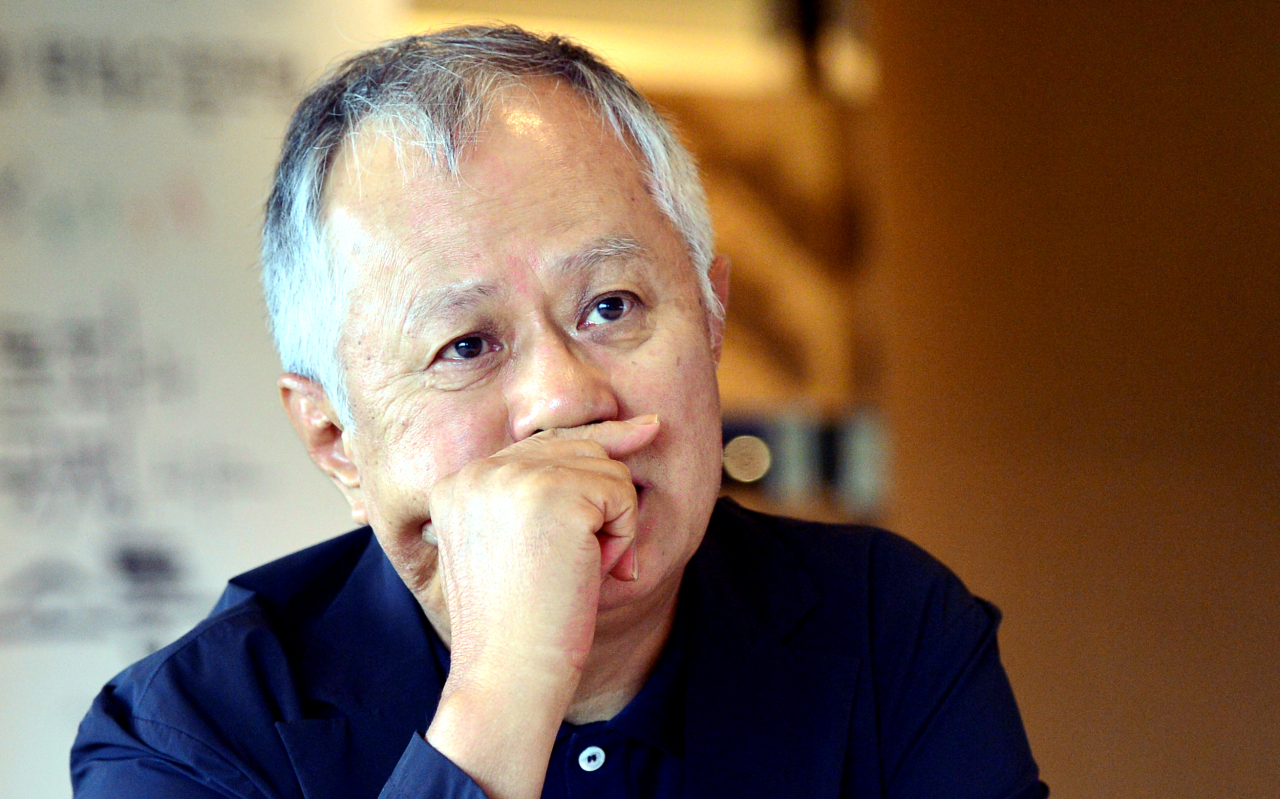 Artistic director of PMC Production Song Seung-whan speaks in an interview at Grand Hyatt Seoul in Seoul, Sept. 1. (Park Hyun-koo/The Korea Herald)