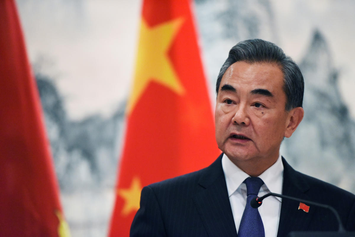 Chinese Foreign Minister Wang Yi (Reuters-Yonhap)