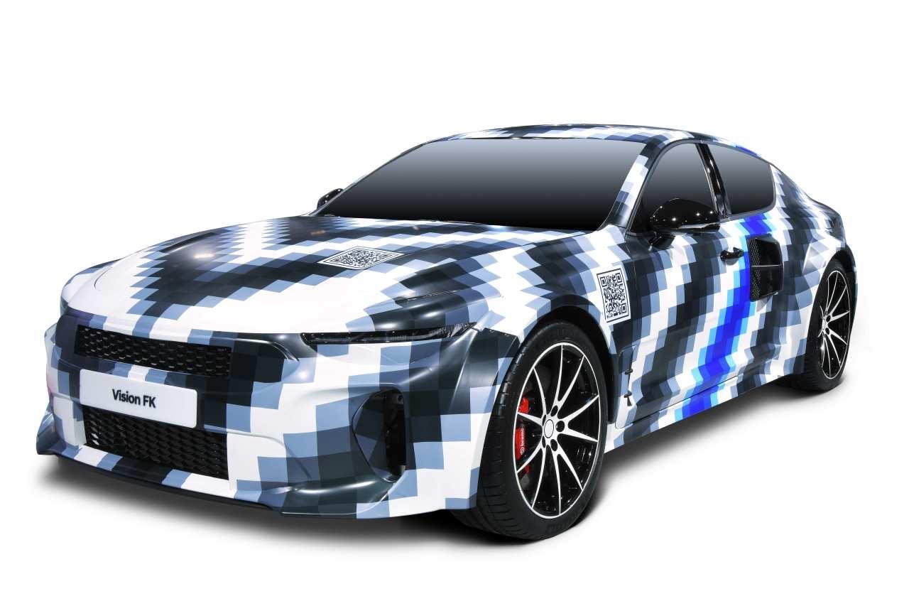 Hyundai Motor Group's hydrogen-powered sports car the Vision FK (Hyundai Motor Group)