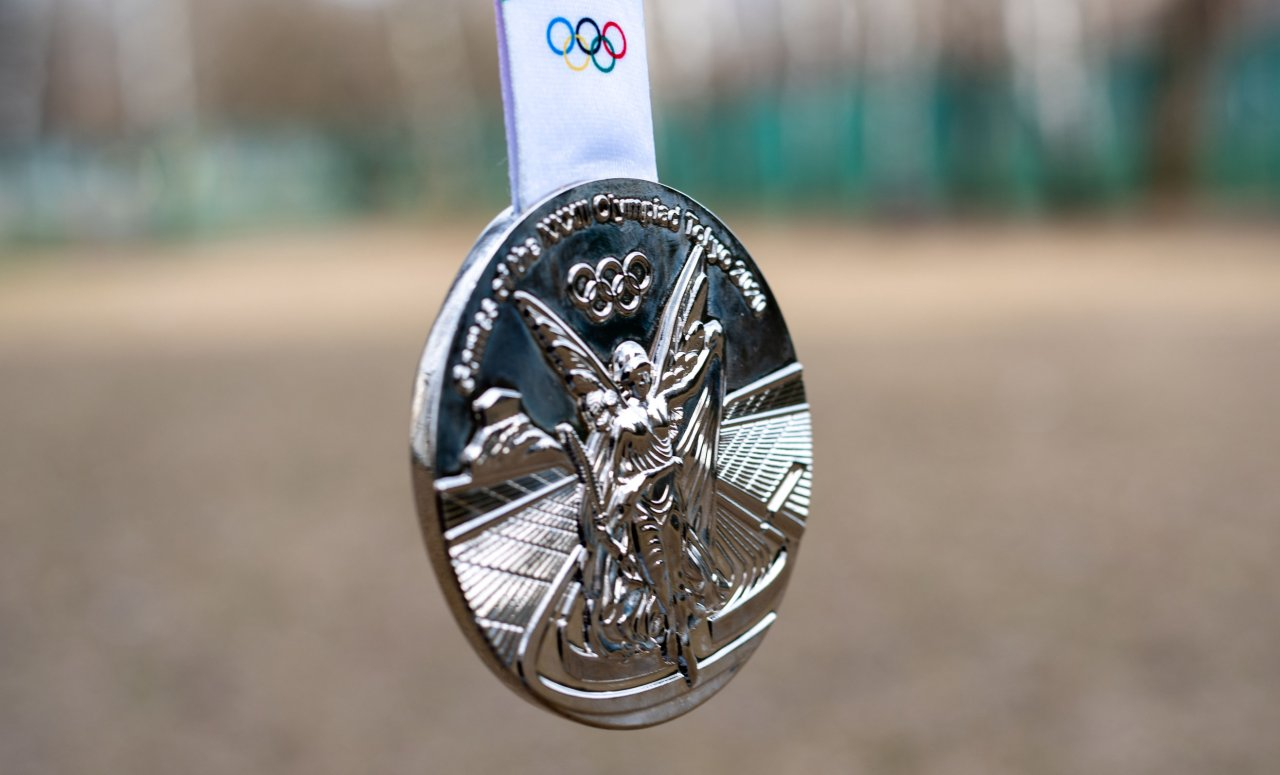 A silver medal at the Tokyo Summer Olympic Games (123rf)