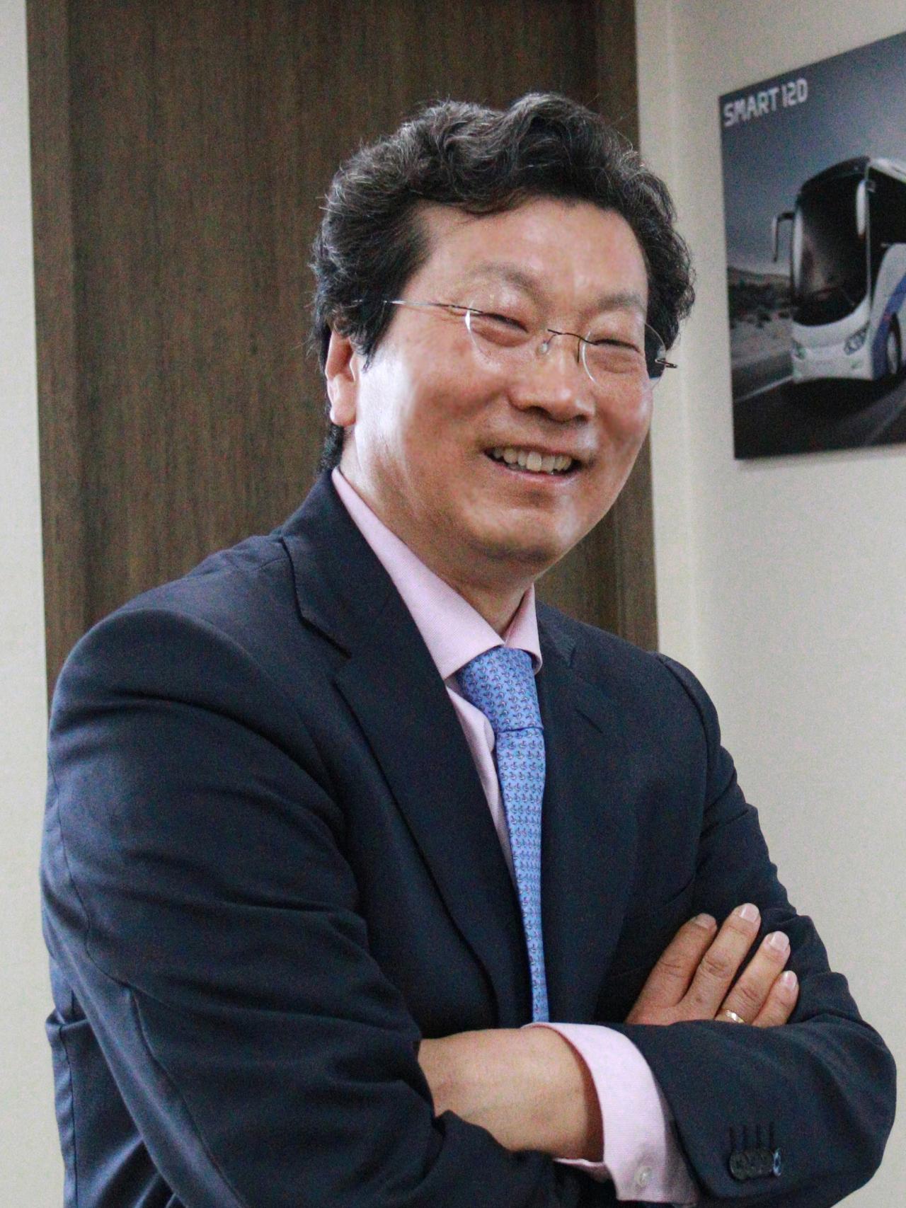 Edison Motors CEO Kang Young-kwon (Edison Motors)