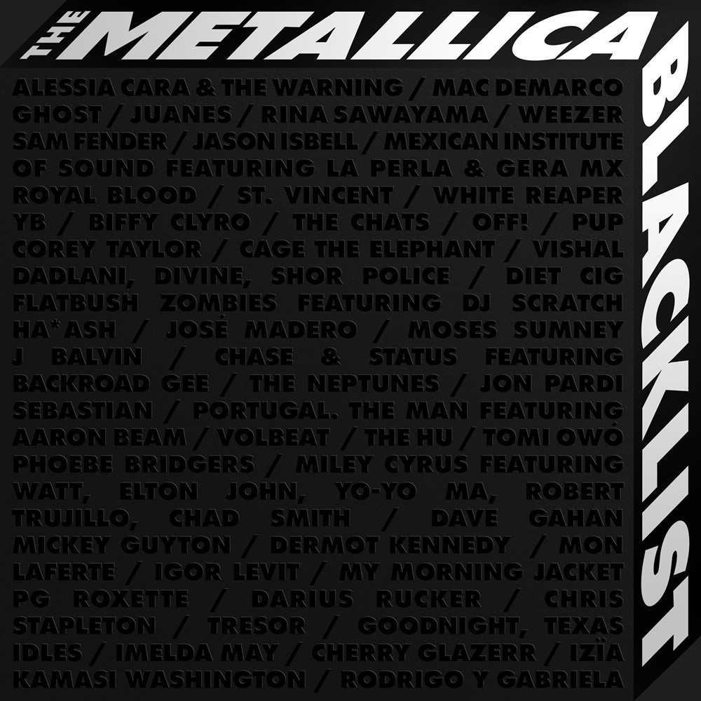 """The cover of """"The Metallica Blacklist"""" (Universal Music)"""