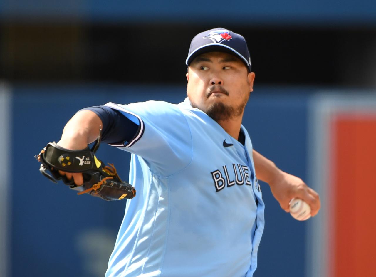 Toronto Blue Jays' pitcher Ryu Hyun-jin (Yonhap)