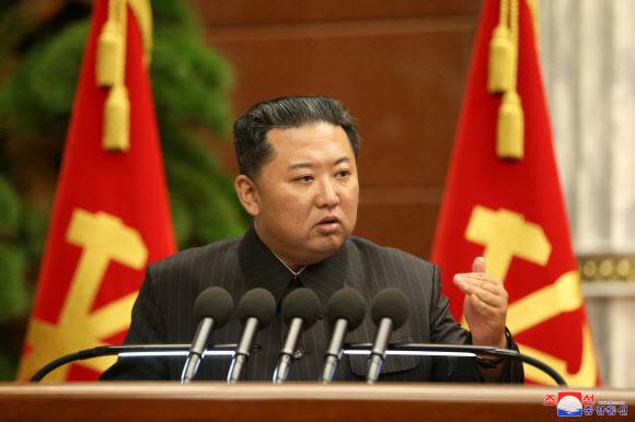 Kim Jong-un, leader of North Korea Korean Central News Agency/Yonhap News Agency