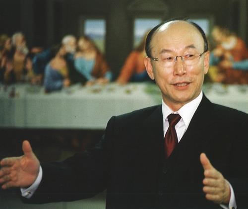 This photo shows late Rev. Cho Yong-gi. (Full Gospel Church)