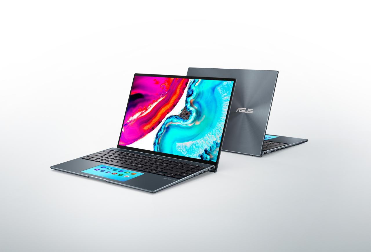 ASUS' Zenbook laptops (Samsung Display)
