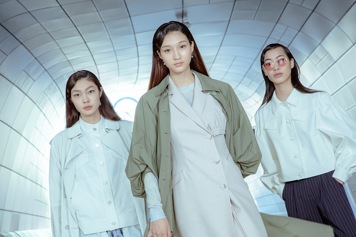 LIE's 2022 spring-summer collection (Seoul Fashion Week)
