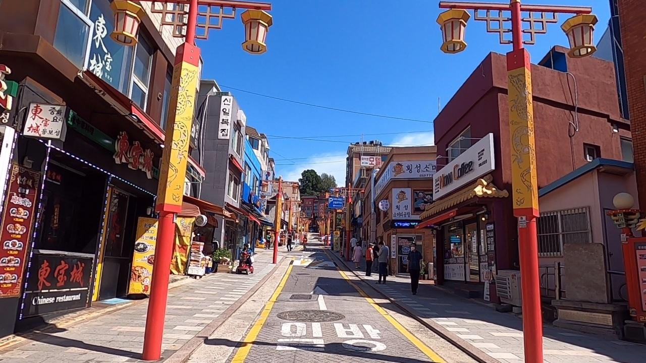 The main ally of Incheon's Chinatown (Kim Hae-yeon/ The Korea Herald)