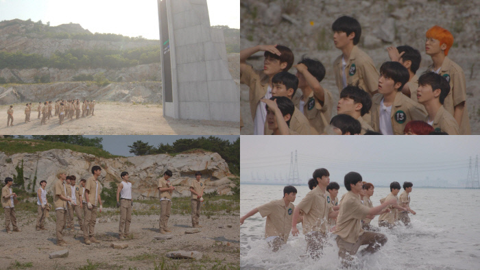 """Scenes from MBC's upcoming survival audition program, """"The Wild Idol"""" (MBC)"""