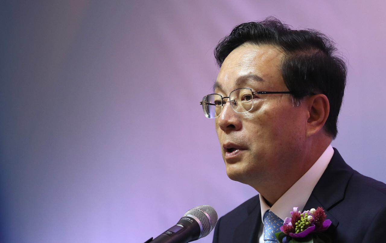 Woori Financial Group Chairman Sohn Tae-seung (Yonhap)