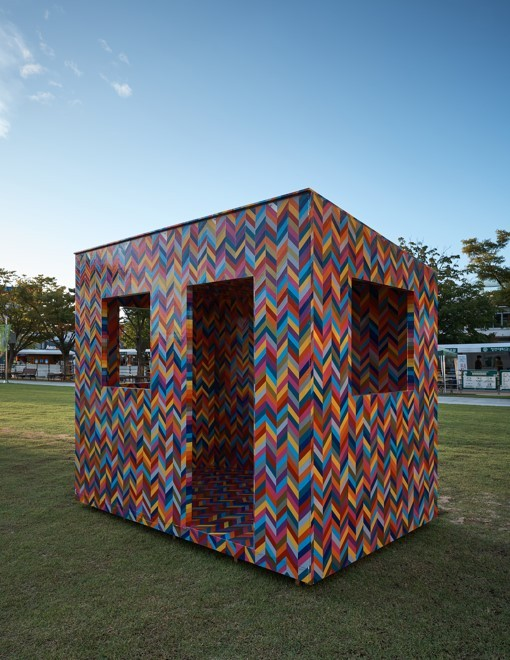 """""""Architectural Sculpture / Good-for-Nothing House / 240 Gapa-ri"""" by Chen Dai-goang (MMCA)"""