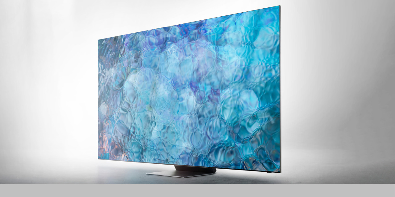 Samsung's Neo QLED 8K TV (IDEA official homepage)