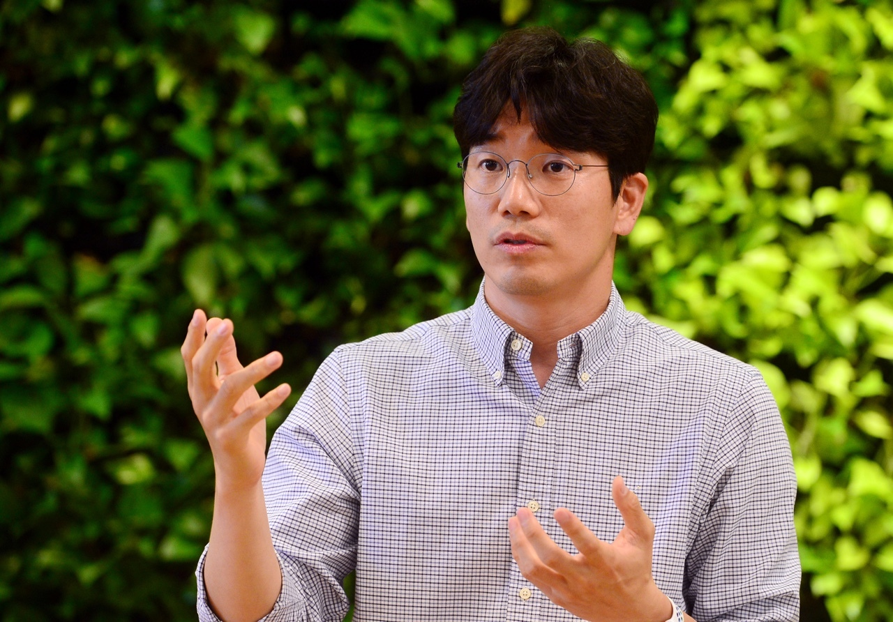 Woowa Brothers CPO Yong Kim (The Korea Herald)