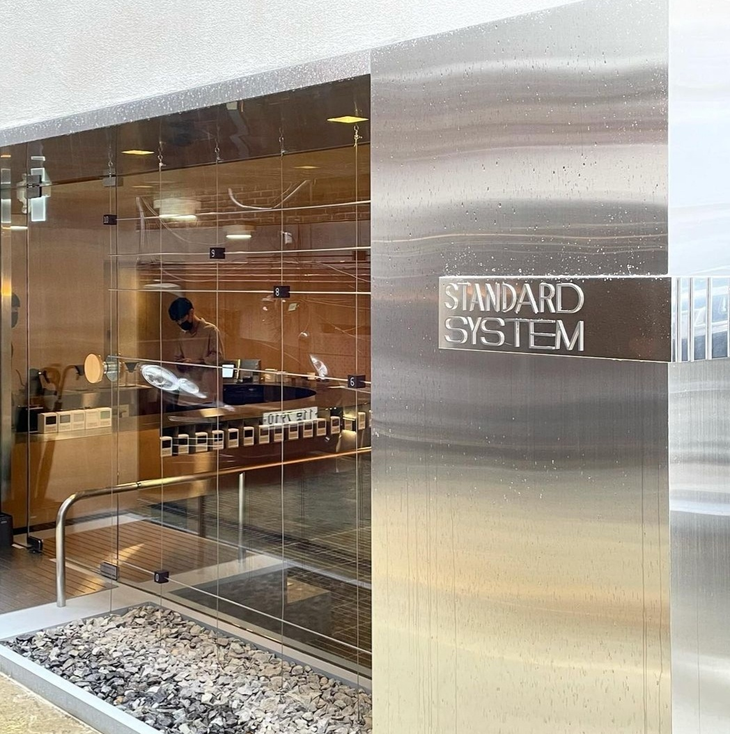 Standard System, Ilsan Coffee Factory's first offline showroom, opened in Seoul's Cheongdam-dong this past August. (Photo credit: Standard System)