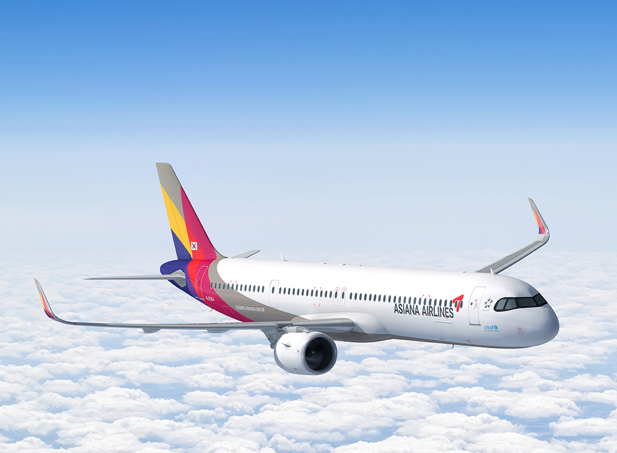 Asiana's A321 NEO aircraft (Asian Airlines)
