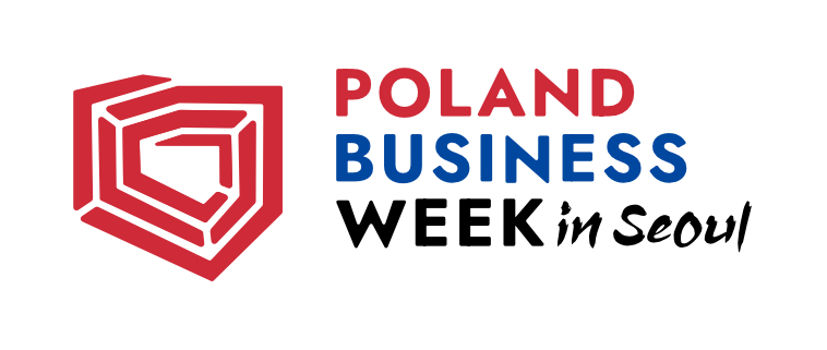Logo of Poland business week (Embassy of Poland in Seoul)