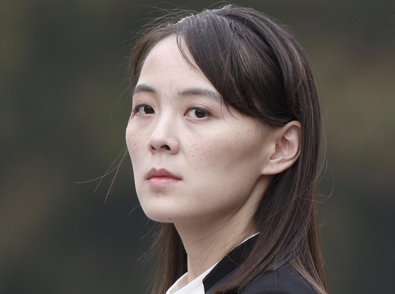 Kim Yo-jong (AP-Yonhap)