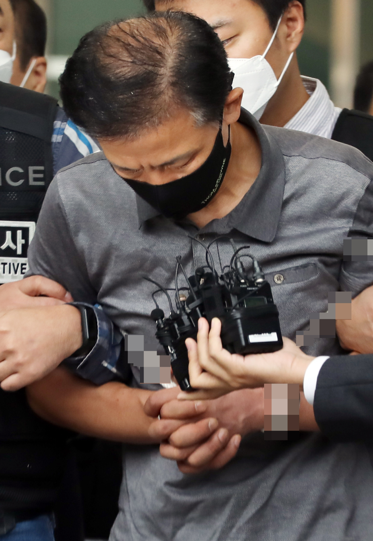 Murder suspect Kang Yoon-seong (Yonhap)