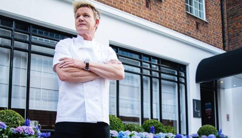 (Gordon Ramsay Restaurants official homepage)