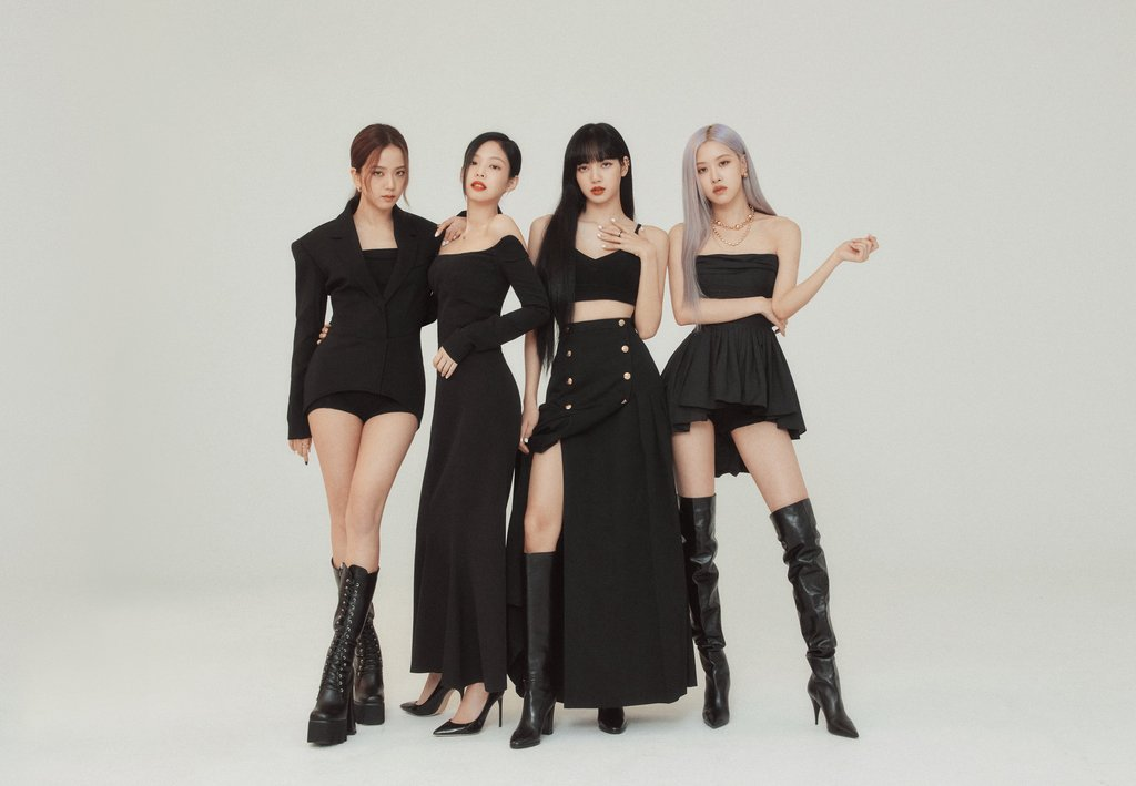 A file photo of K-pop girl group BLACKPINK provided by its agency YG Entertainment. (Yonhap)