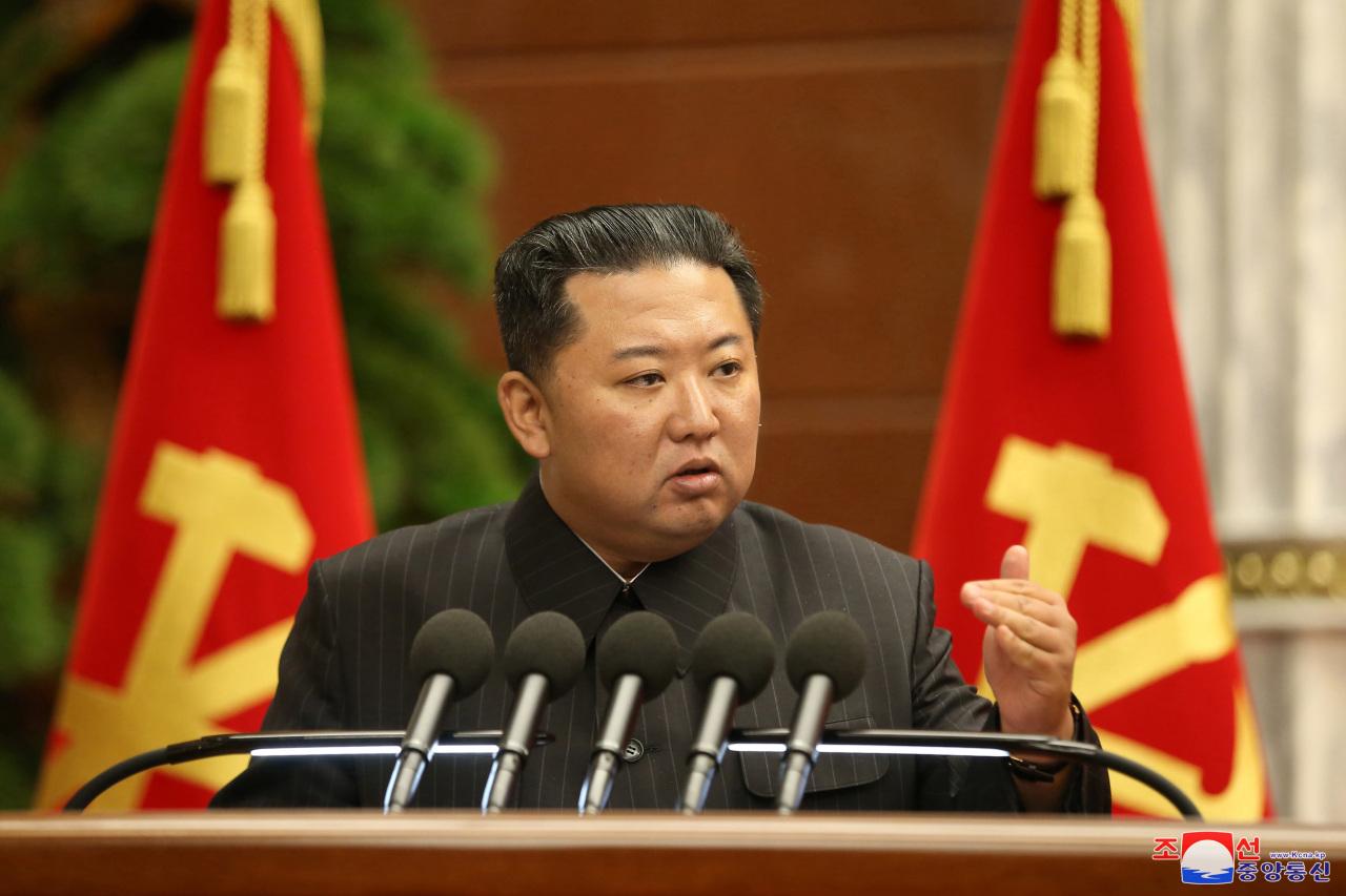 North Korean leader Kim Jong-un. (KCNA-Yonhap)