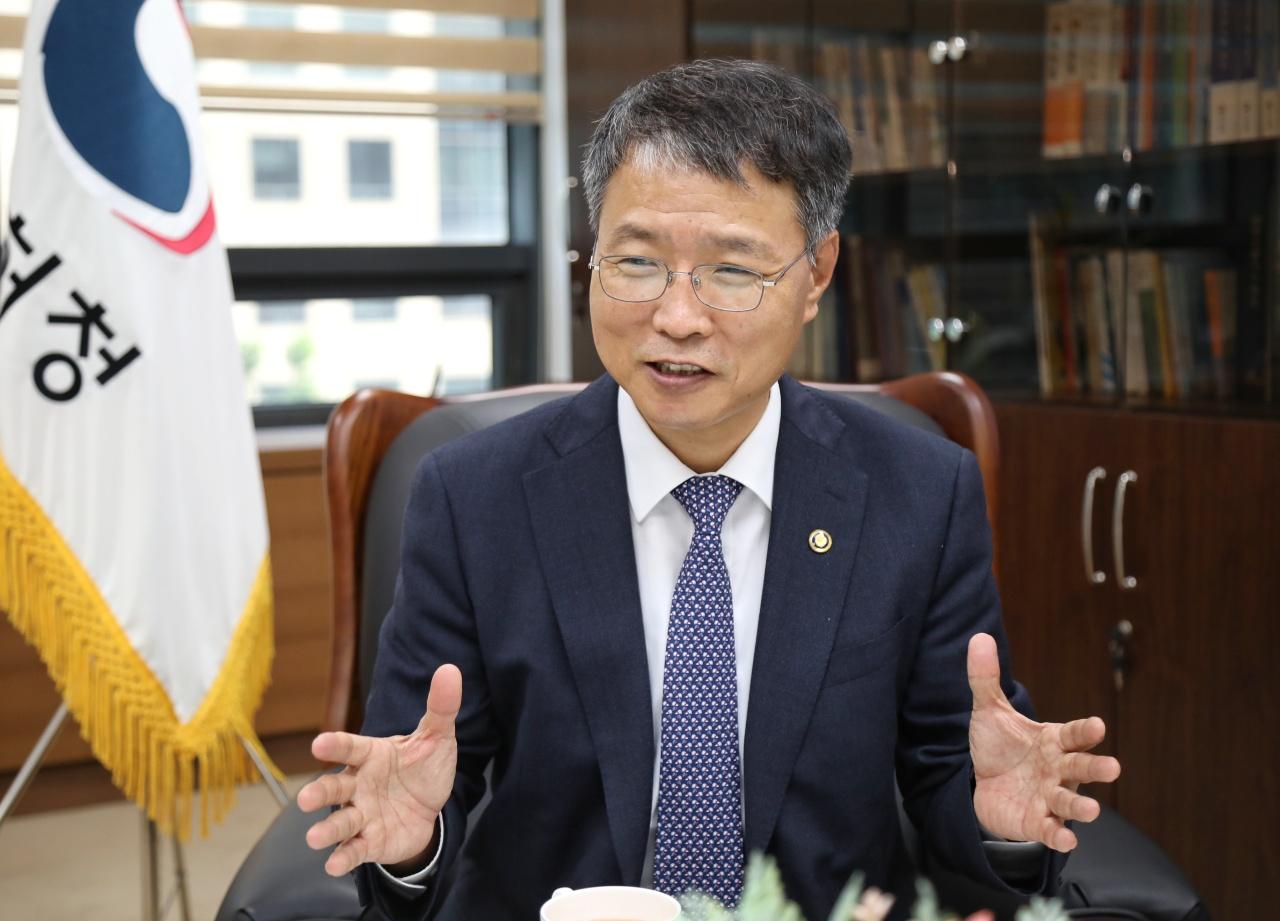 Korean Intellectual Property Office Commissioner Kim Yong-rae (KIPO)