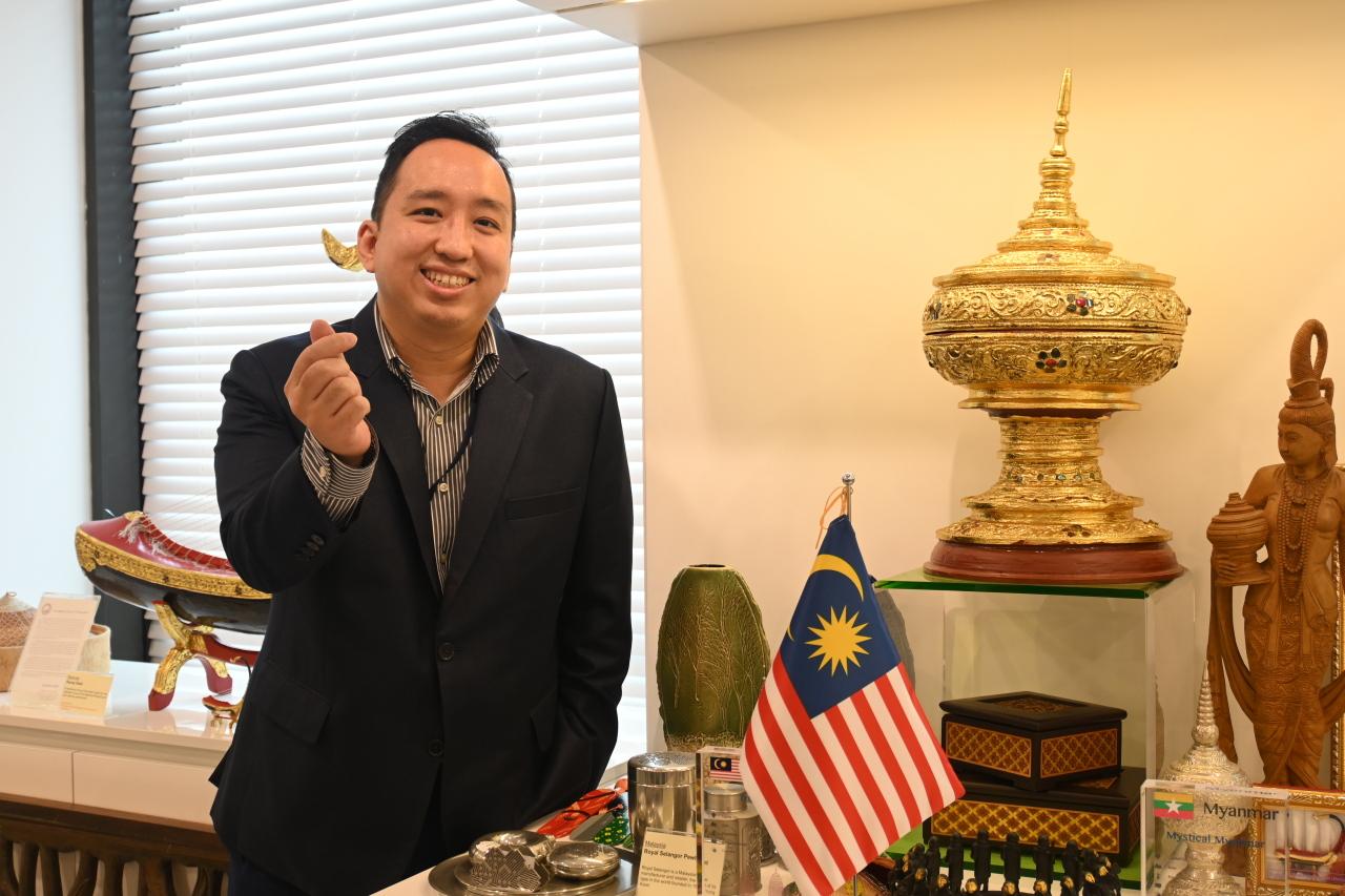 Joshua Ngooi Teck Hwa, head of trade and investment.(ASEAN-Korea Center)