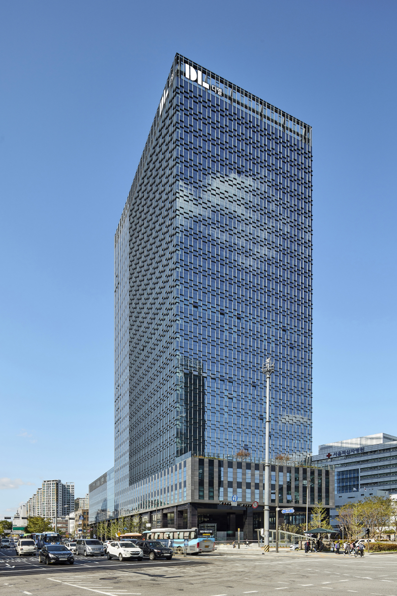 DL Chemical headquarters in Jongno, central Seoul (DL Chemical)