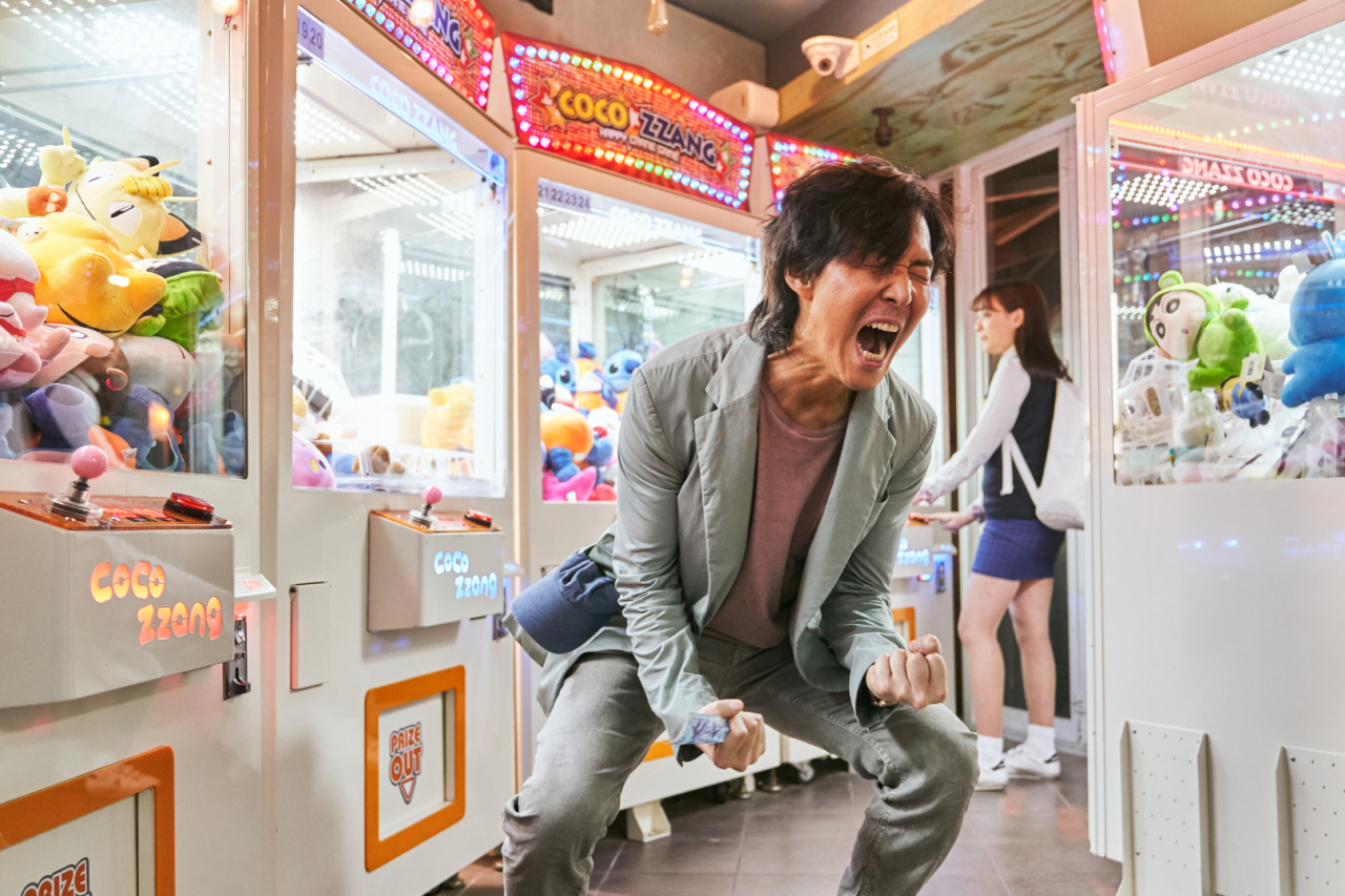 "Actor Lee Jung-jae plays debt-ridden divorcee Ki-hoon in ""Squid Game"" (Netflix)"
