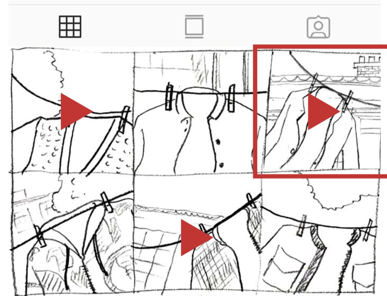 Jeon's idea sketches shared on Instagram (Courtesy of Sang Jeon)