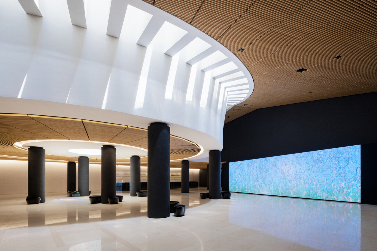A view of the remodeled lobby at Leeum Museum of Art in Seoul (Leeum Museum of Art)