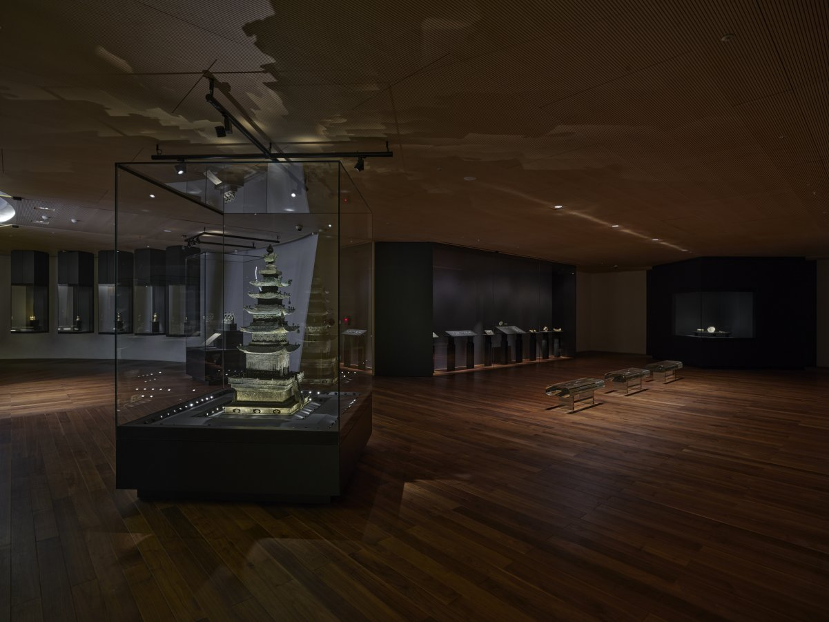 An installation view of the Korean traditional art collection at Leeum Museum of Art (Leeum Museum of Art)