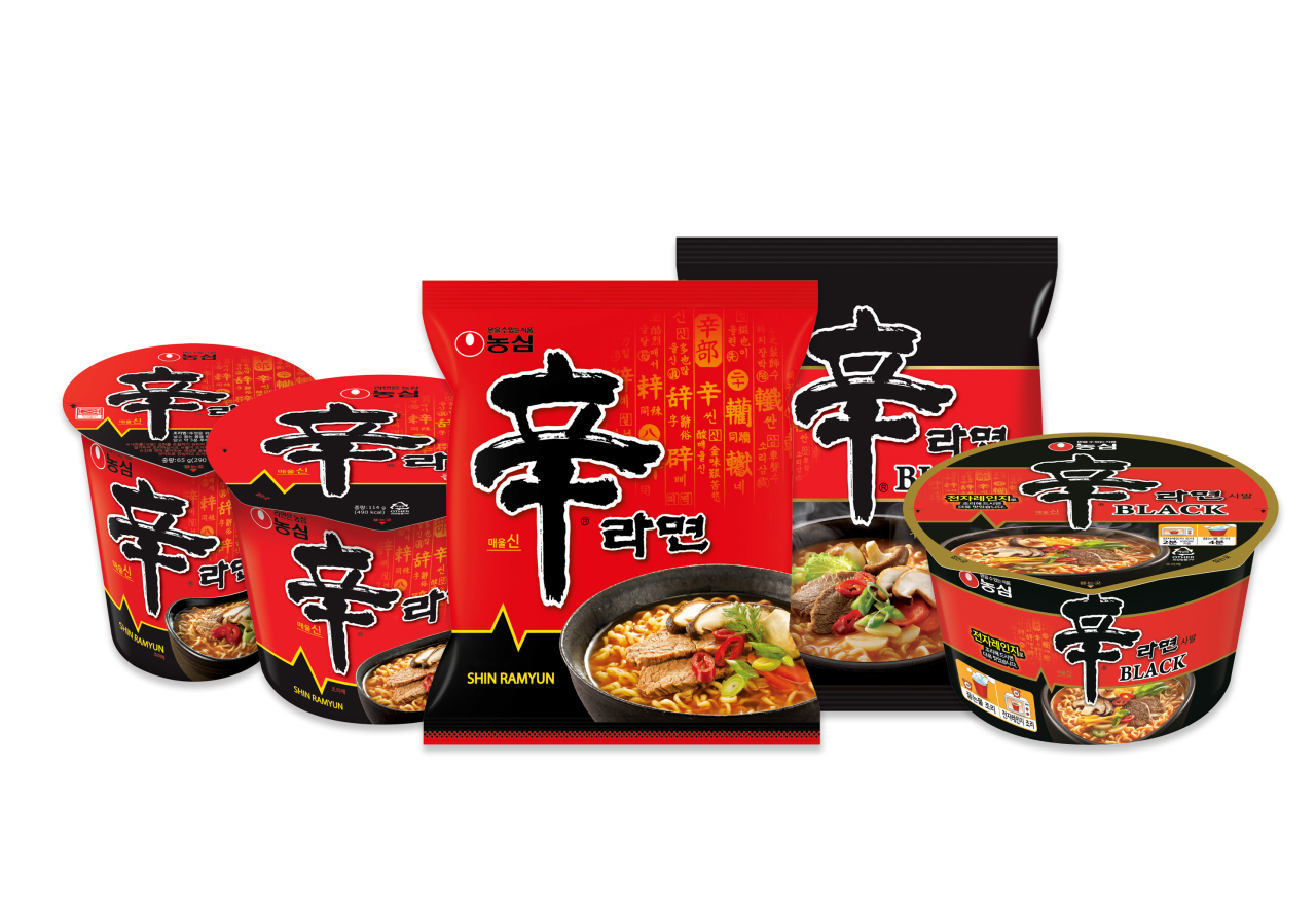 Nongshim's Shin Ramyun products (Nongshim)