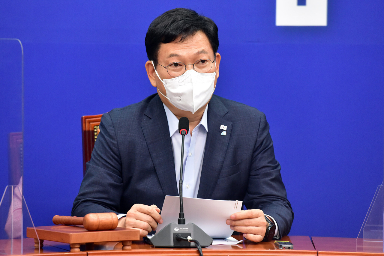Democratic Party Chairman Rep. Song Young-gil(Yonhap)