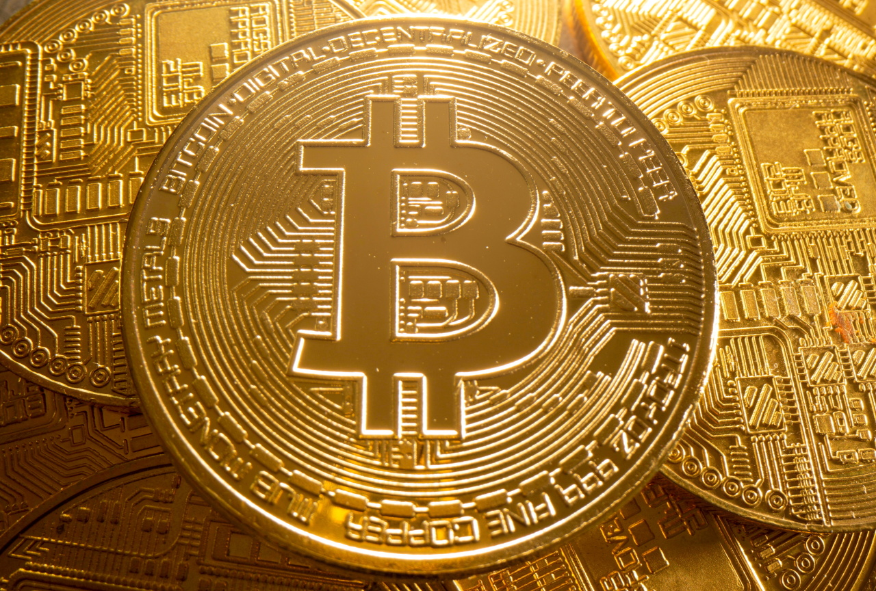A representation of cryptocurrency Bitcoin is seen in this illustration taken August 6, 2021. (Reuters-Yonhap)