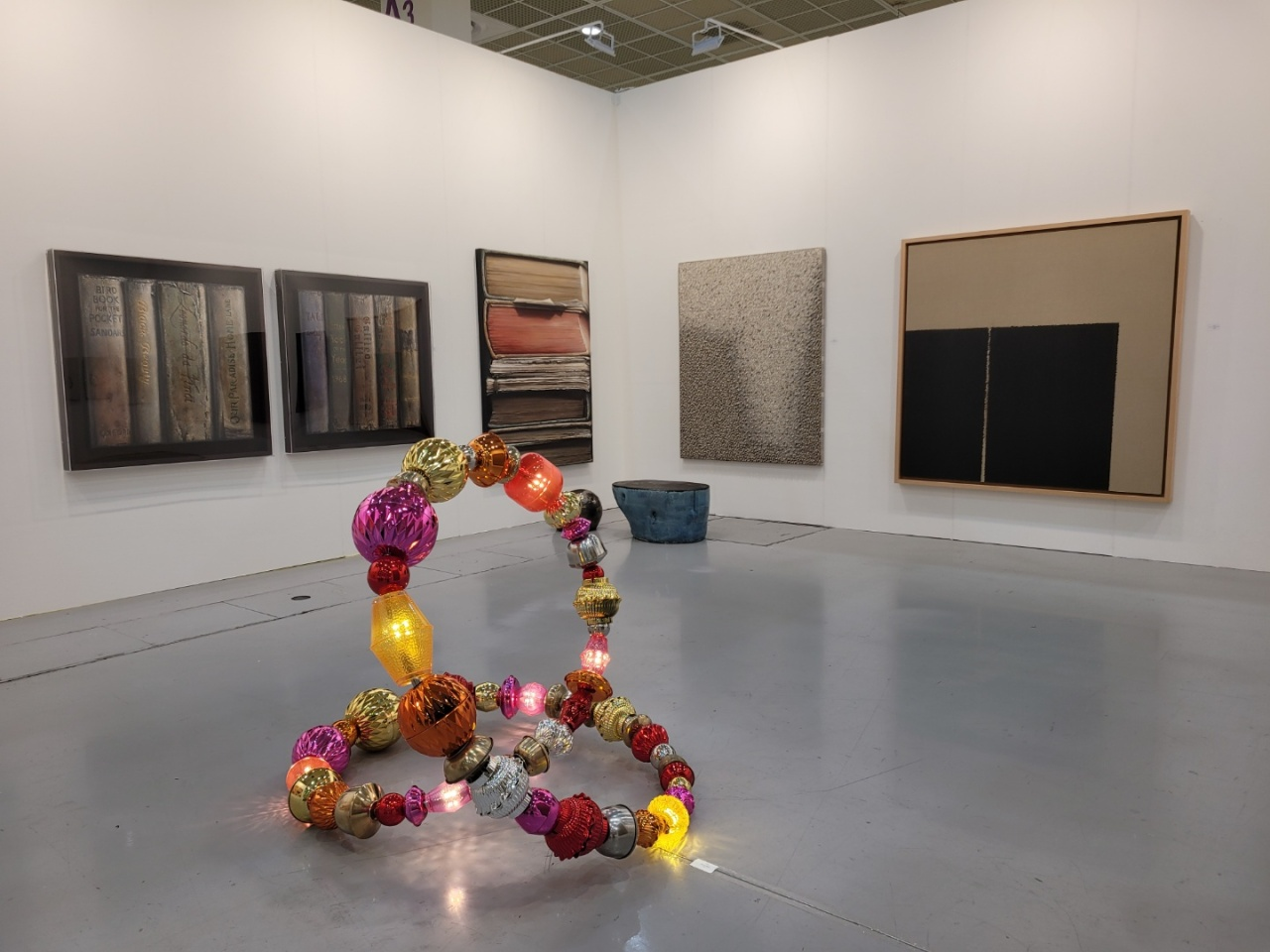 An installation view of the Park Ryu Sook Gallery booth (Park Yuna/The Korea Herald)