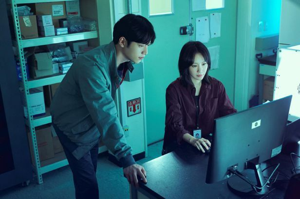 "A scene from Korean drama ""Grid"" written by Lee Su-yeon (Walt Disney Company Korea)"