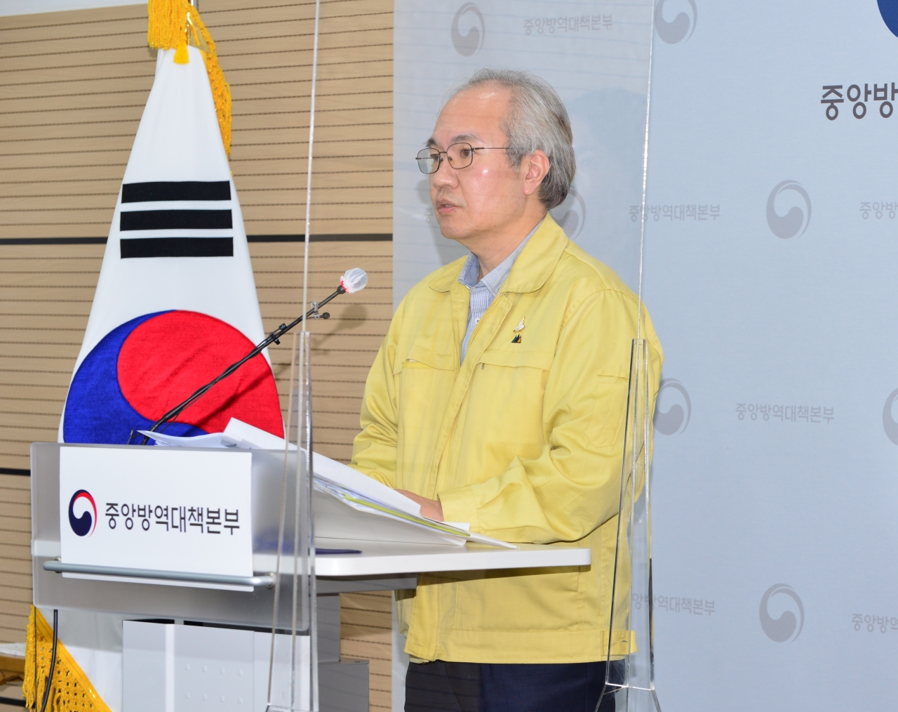 Kwon Jun-wook, the director of the Korea National Institute of Health (KNIH)