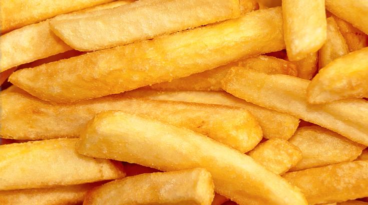 감자 튀기기 전에 물에 담가두세요